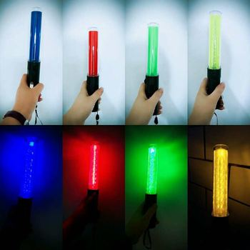 260 Multi-functional Flashinglight PVC Traffic Baton Fluorescent LED Emergency  Evacuation tool Vehicles Flash W Batons 1