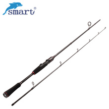 Smart 2.1m Spinning/Casting Fishing Rod M Power 2 Sections Carbon Lure Rods Canne A Peche Olta Carp Vara De Pescar Fishing Tacke