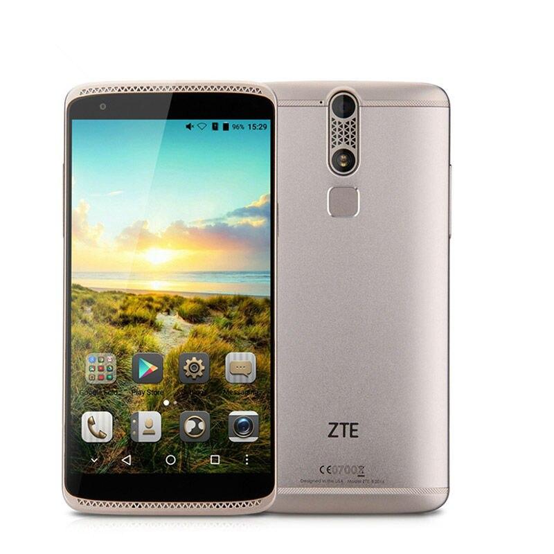 Цена за Оригинал zte axon mini b2015 msm8939 octa ядро смартфон отпечатков пальцев 5.2 Дюймов FHD Экран 3 ГБ RAM 32 ГБ ROM 13.0MP Мобильный телефон