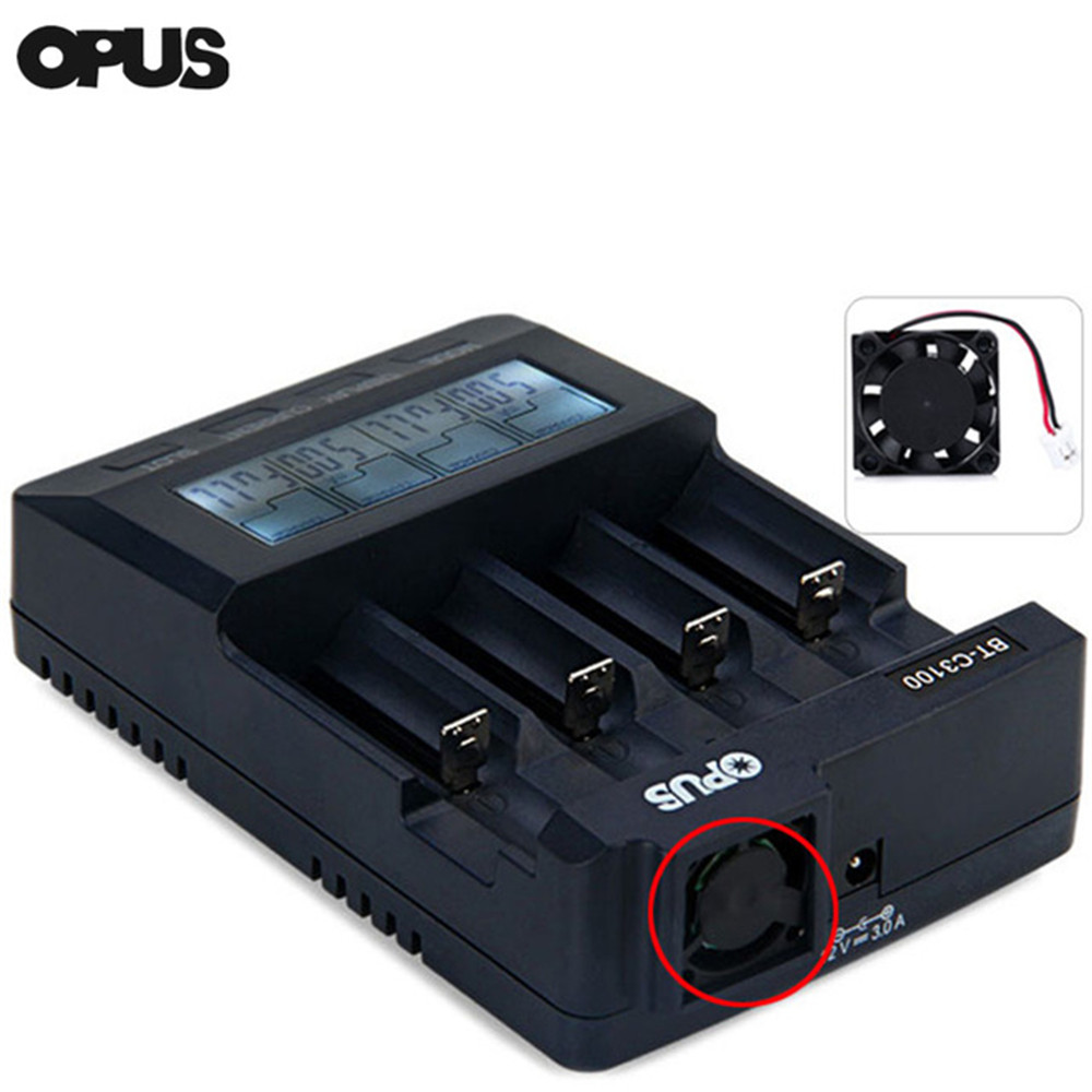 OPUS Battery Charger Fan Replacement for Opus BT-C3100 V2.1 / V2.2 Battery Charger