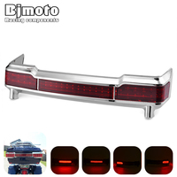 Bjmoto Motorcycle LED Tail Brake Light Running Turn Signal for Harley Davidsion Touring Tour Pack Moto Road Electra Glide 97 13