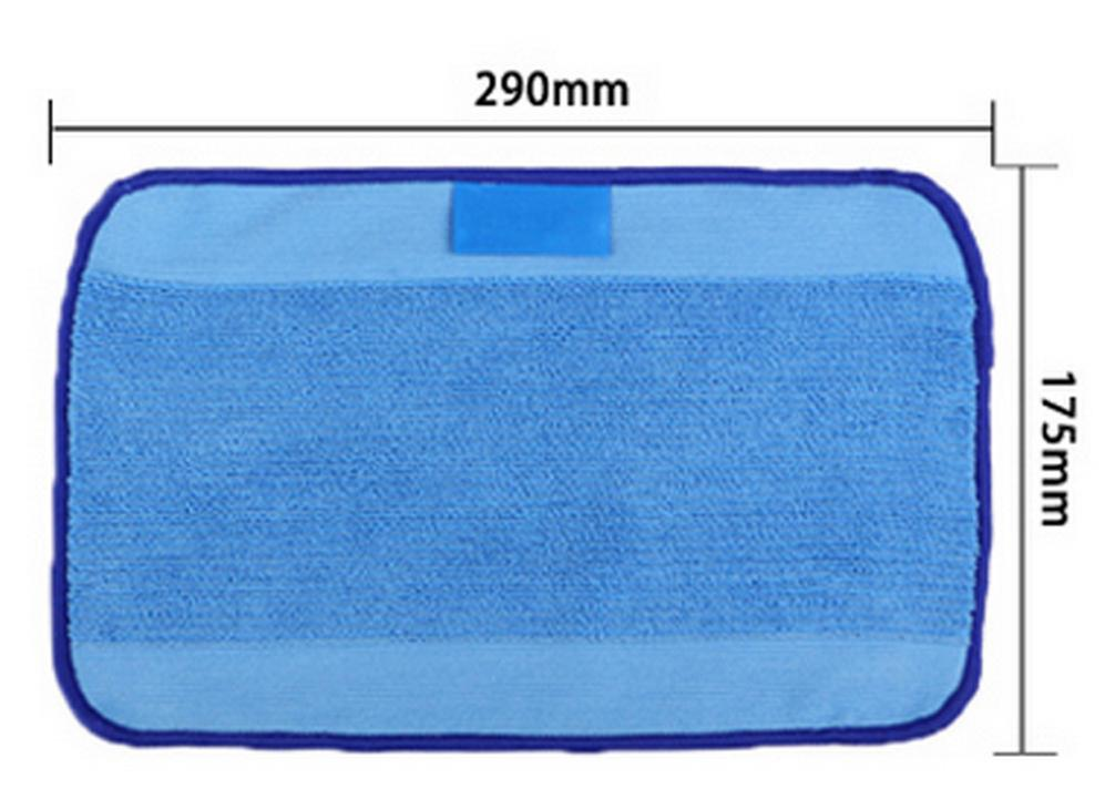 3pcs/Lot Microfiber Dweeping Mopping Cloths wet pad for iRobot Braava 380 380t 320 Mint 4200 4205 5200 5200C Robot replacement blue wet microfiber mopping cloths for irobot braava 380 380t 320 mint 4200 4205 5200 5200c floor mopping robot