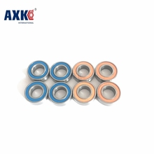 Free Shipping Axk Mr105rs Bearing Abec-5 (10pcs) 5x10x4 Mm Miniature Mr105-2rs Ball Bearings L1050