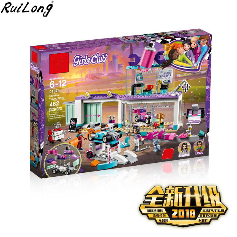 New Girl Princess Friends Creative Tuning Shop Set Compatible Legoing Friends 41351 Building Block Brick For Girl Toys Christmas