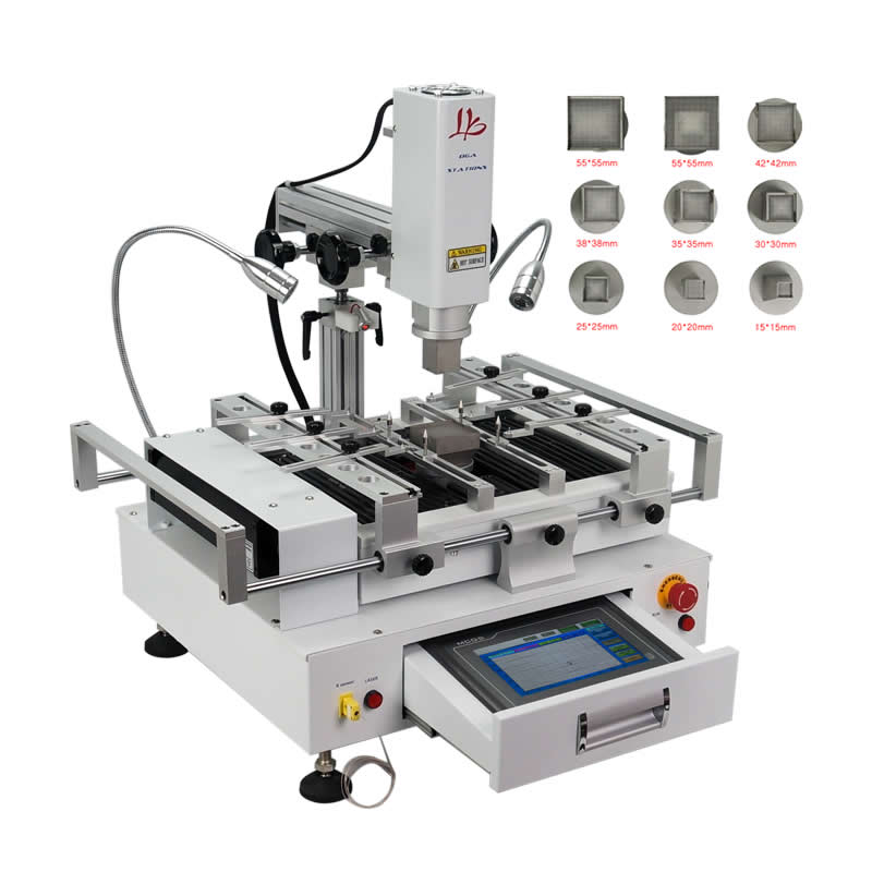 R690 4000W Hot Air Soldering Station BGA Reballing Machine With CCD Camera System Optional For Chips Motherboard Rework Repair