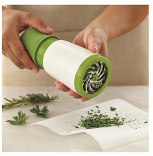 1pcs herb grinder Spice Mill Parsley Shredder Chopper Fruit Vegetable Cutter cooking Kitchen accessories tools