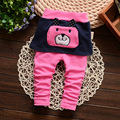 retail! Baby PP Pants Boys Girls Trousers Cotton Kid Wear For Autumn Spring Leggings Children Clothing Knit Pants Baby Pants