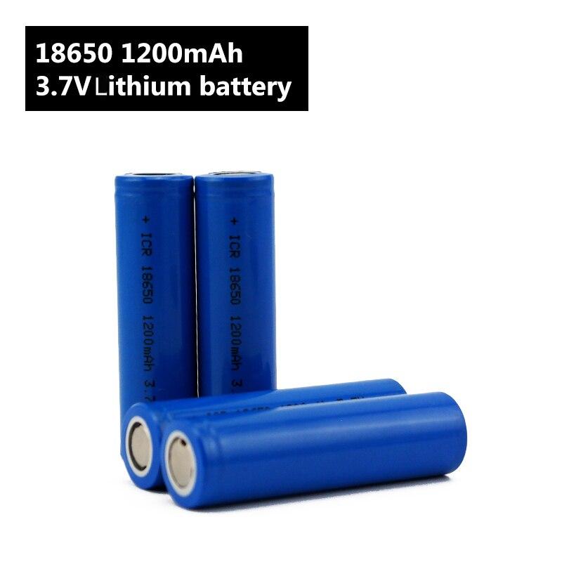 Image 5 - Flashlight 18650 Battery 3.7 V 1200mah Li ion Rechargeable battery for Power Bank/e Bike 18650 Batteries pack (1pc)-in Rechargeable Batteries from Consumer Electronics