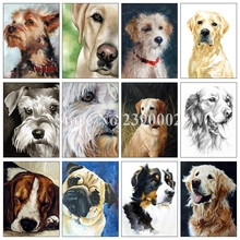 hot deal buy golden retriever 5d diy diamond painting full square diamond embroidery dog diamond mosaic cross stitch animal painting