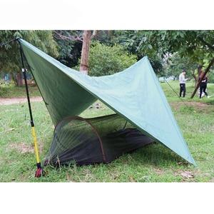 Image 2 - Multiuse נייד ערסל קמפינג טיולים נסיעות ערסל עם כילה דברים שק unnel צורת נדנדות מיטת אוהל שימוש חיצוני