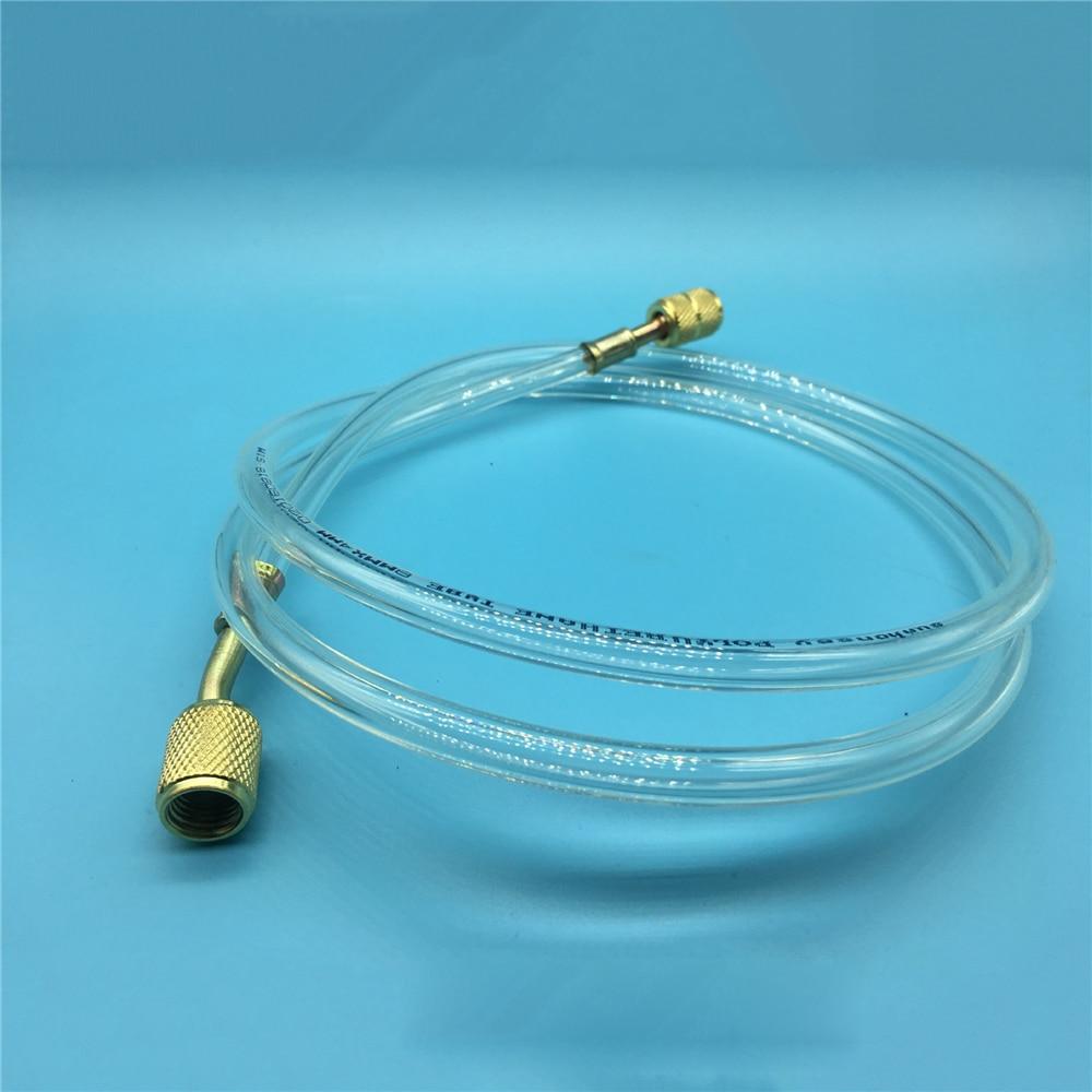 1pc Air Conditioning Add Fluoride Tube High Pressure Freon Pipe Refrigerator Liquid Add Fluorine Hose Air Conditioner Parts