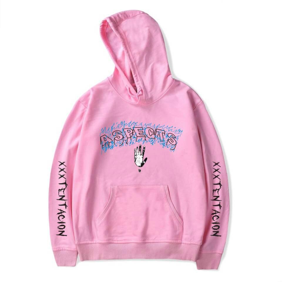 Xxxtentacion rip 2018 Hoodies look at me sweatershirts hiphop women Sweatshirts rap hip hop hood hoddie Hooded male/women