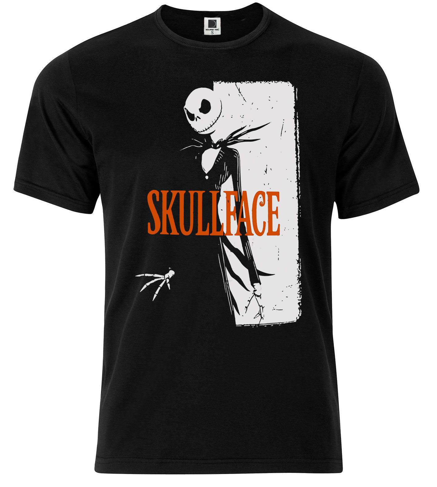 Skull Face Jack Skellington T-Shirt The Nightmare Before Christmas Gift Idea t shirts ...