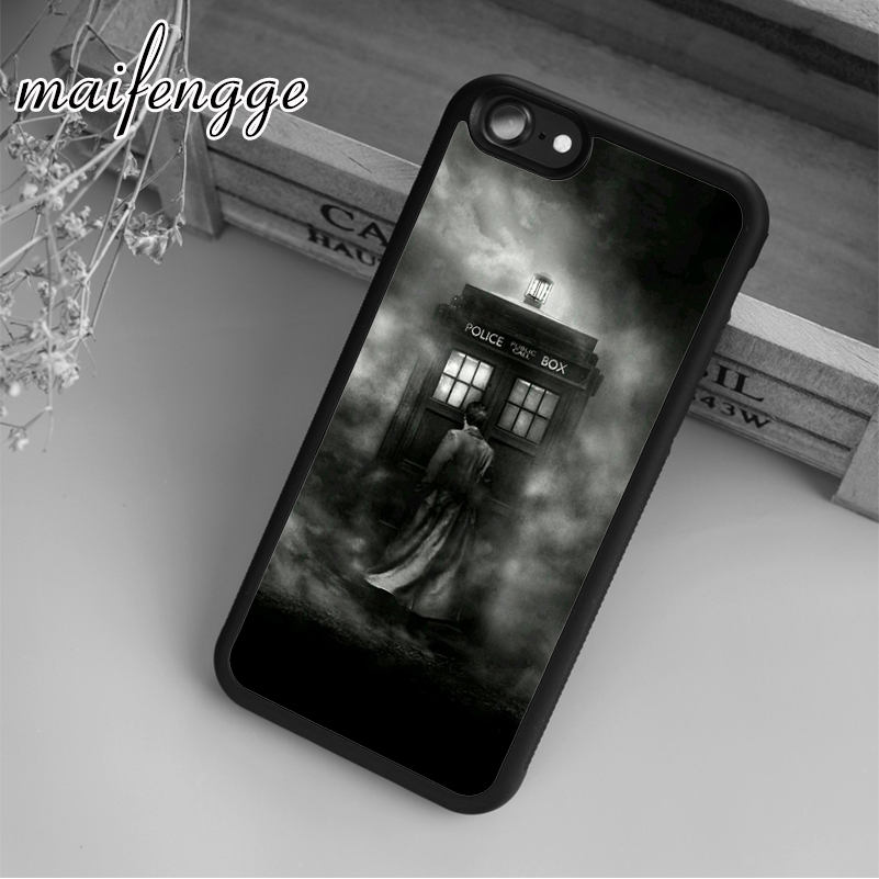 Cellphones & Telecommunications Phone Bags & Cases Maifengge New Doctor Who Tardis D Case For Iphone 6 6s 7 8 Plus X 5 5s Se Case Cover For Samsung S5 S6 S7 Edge S8 Plus Shell To Have Both The Quality Of Tenacity And Hardness