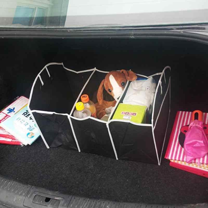 VODOOL автомобильный органайзер для багажника, коробка для хранения, мульти-карман, большая емкость, складные грузовые игрушки, сумка для хранения инструментов, сумка для автомобиля