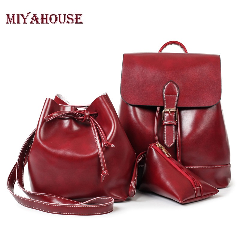 Compare Prices on Ladies Leather Backpack Purse- Online Shopping ...