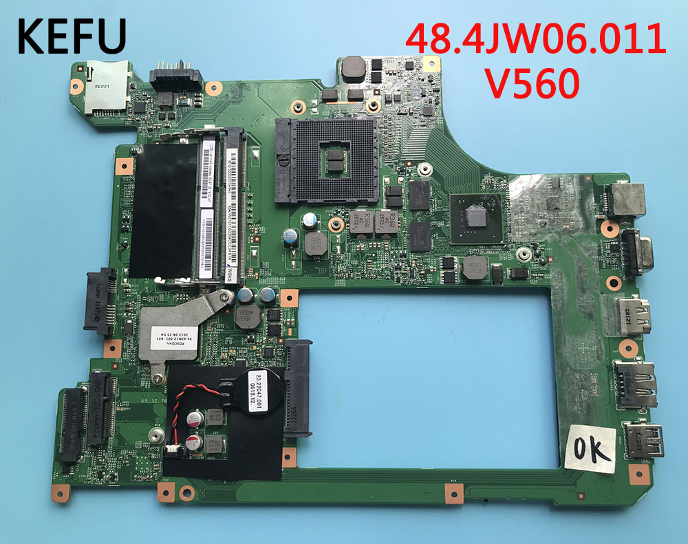 KEFU V560 FOR Lenovo 48 4JW06 011 Laptop Motherboard V560 with graphics card Best Quality With