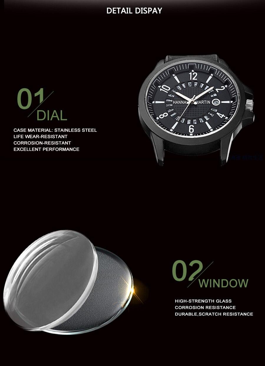 HTB1.zhfajDuK1RjSszdq6xGLpXaG Men Wrist Watch Leather Casual Waterproof Calendar