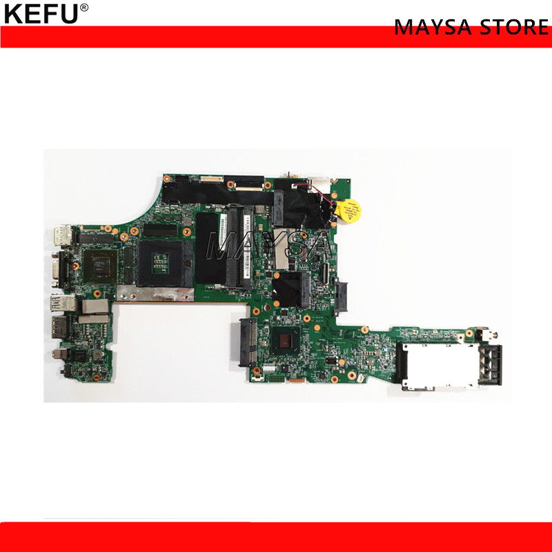 KEFU LKN-3 WS MB 48.4KE27.051 For Lenovo Thinkpad W520 Laptop Motherboard FRU 04W2029 QM67 Q3 Quadro 2000M Video card times newspaper reading course of intermediate chinese 1 комплект из 2 книг