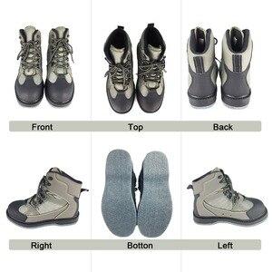 Image 3 - טוס דיג חליפות Clothings & שכשוך נעלי דגי סט לנשימה רוק מגפים הרגיש בלעדי מגפי ציד מכנסיים שכשוך טוב כמו daiwa