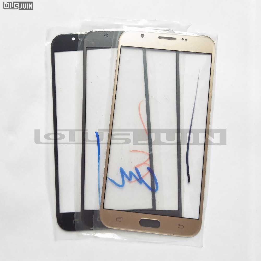 Original Outer LCD Front Screen Glass Lens Cover Replacement Parts For Samsung Galaxy J720/J727