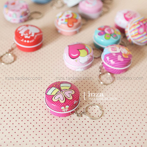 12 Pieces/Lot Cheap Cute Small Candy Boxes Round Metal Tin Box Coins t Sorage Box Tea Container Wholesale Free Shipping Karachi