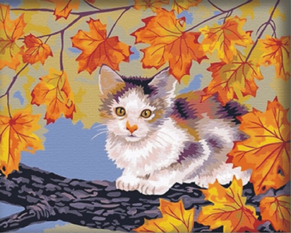 Online kopen wholesale geschilderd katten pictures uit china ...