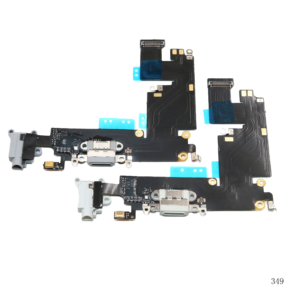 USB Charging Port Connector Charge Dock Socket Jack Plug Flex Cable With Headphone Audio Jack For 6 Plus 6P 5.5inch