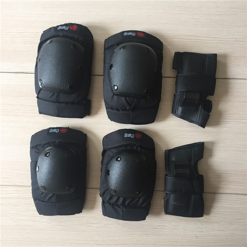 Boiling Skateboard Protection Gear Longboard Wrist Knee Elbow Protection  Professional Drift Downhill Pads