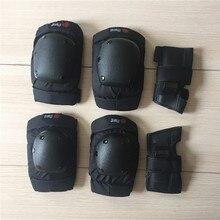 Hirviendo Skateboard equipo de protección Longboard muñeca rodilla codo protección profesional deriva cuesta abajo almohadillas