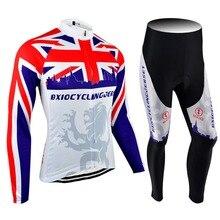 2017 recién llegado de equipacion bxio ciclismo jersey manga larga ciclismo ropa bike top rate otoño ropa de ciclo 070