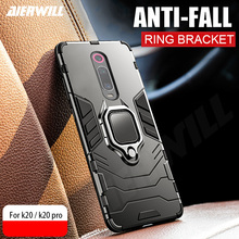 Armor Ring Case For Xiaomi Redmi K20 pro case Magnetic Car Hold Shockproof Soft Bumper Phone Cover global