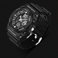 2016 SANDA LED Digital Watch Army Men Sport Watches Men Luxury Brand Fashion Quartz Watch Military