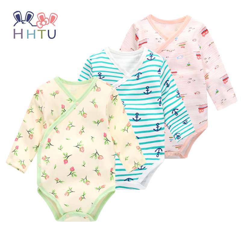 HHTU Baby Rompers Newborns Clothes Baby Clothes Lovely for Spring and Autumn to Jumpsuits Gril &Boy Climb Clothes hhtu baby rompers jumpsuits baby girls clothing children autumn newborn baby clothes cotton long sleeve climb clothes
