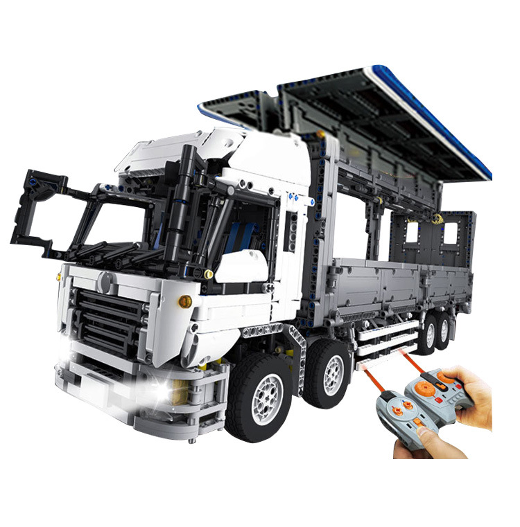4380Pcs Technic Series The MOC Wing Body Truck Set 1389 Educational Building Block Bricks Children Toys Gift 23008 4380pcs technical series the moc wing body truck set compatible with 1389 educational building blocks children toys