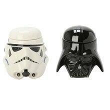 1 STÜCKE Persönlichkeit Star Wars 3D Becherschale Schwarz Darth Vader Stormtrooper Iron Man Becher Kreative Tassen Und Becher Kaffee Teetasse Geschenke