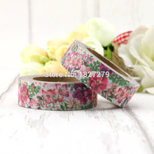 NEW 1X Fresh Floral washi tape DIY decorative scrapbooking masking tape adhesive label sticker tape stationery new 1x fresh floral washi tape diy decorative scrapbooking masking tape adhesive label sticker tape stationery
