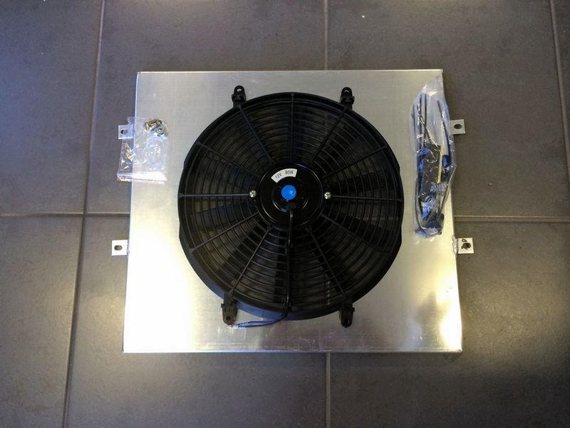 Aluminum shroud  /& fan for Jeep Wrangler YJ TJ 2.4 2.5 4.0 4.2 1987-2006