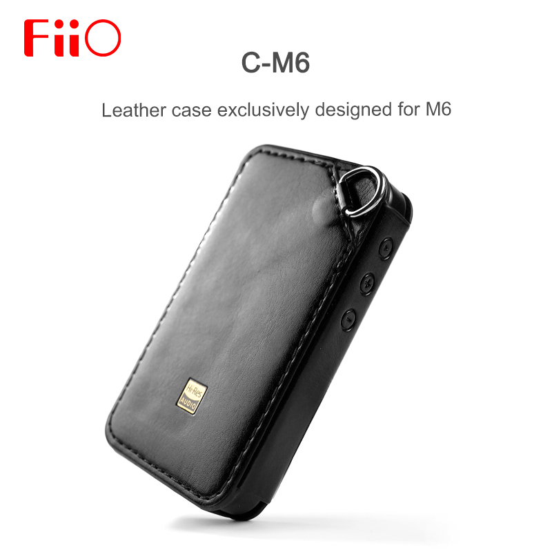 Fiio C-M6 Leather Case For FiiO M6 Music Player Black