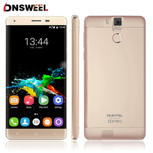 Oukitel K6000 Pro 4G Mobile Téléphone 5.5 pouce FHD MTK6753 Octa Core Android 6.0 3 GB RAM 32 GB ROM 13MP Cam D'empreintes Digitales ID Smartphone