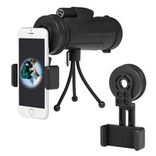 Monocular Telescope Cell Phone Photography Adapter Mount Outdoor Hunting Camping Scopes Binocular Spotting Scope Adapter Mount adjustable vehicle car window mount binocular window mount spotting scope window mount