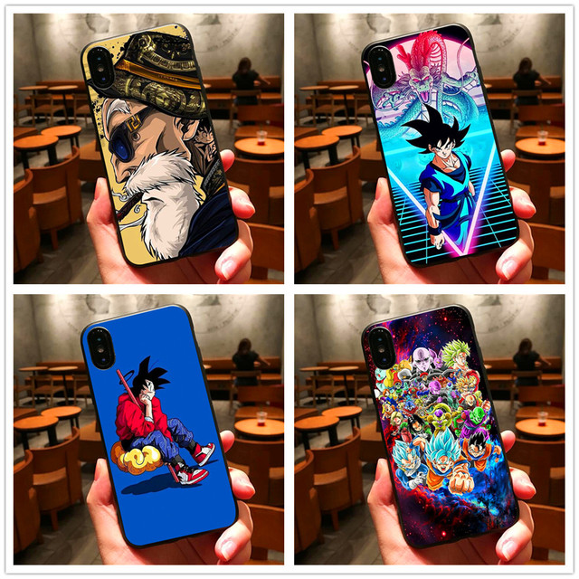 Dragon Ball Super Goku Case Cover For iPhone Models