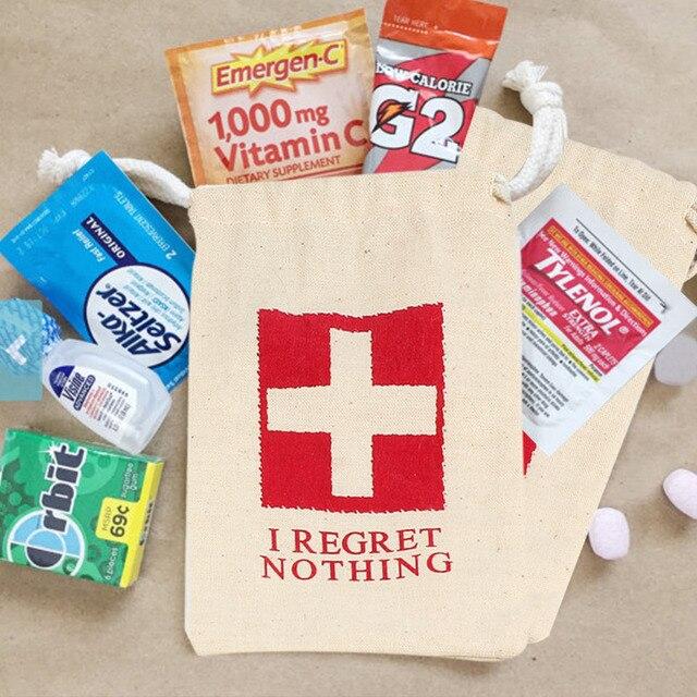 10 stücke Baumwolle Gastgeschenke Taschen Hen Party Supplies Ich ...