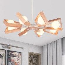 trazos nordic colour TRAZOS Modern led Pendant Lights Wooden White/Black Pendant Lamps For Restaurant/Bar Lighting luminaire Home Decoration lamparas