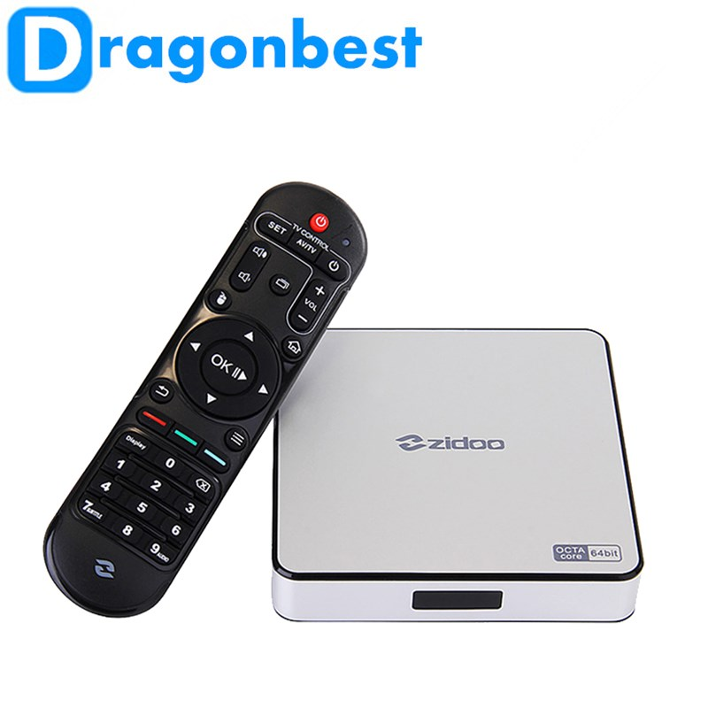 New Android 5.1 RK3368 OctaCore Cortex-A53 ZIDOO X6 ProTV Box 2G/16G 1000M LAN Dual WIF4K*2K 3D better than MXIII M8S Plus 5pcs lot rk3368 octacore cortex a53 android 5 1 zidoo x6 pro tv box support 2g 16g 1000m lan 4k 2k 3d kodi pre installed