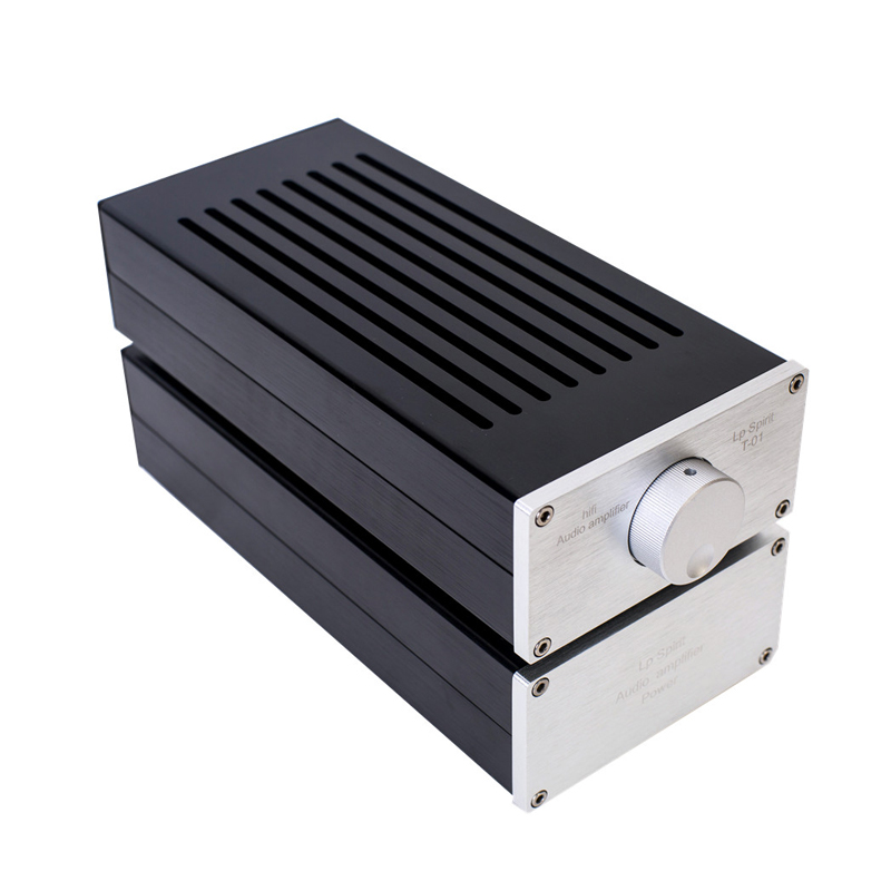 цена на Mini Fever Class Split Pure A Small Power Amplifier Home Amplifier PC Desktop 220V 1969 Pure Hifi T-01
