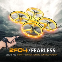 RCtown ZF04 Interactive Induction Drone Toys Quadcopter Intelligent Watch Uav Remote Control UFO Drone Children Gift ZLRC