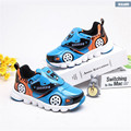 New 2016 Kids Shoes Cool Lighted  Car Boys Casual Shoes Breathable Sports Shoes For Children #2917