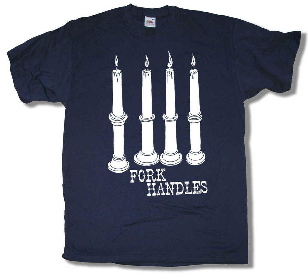 Вилка ручки ФУТБОЛКА ВДОХНОВЛЕННЫЙ два Ronnies ТВ комедии жаль папа армии Fab! Повседневная принтованная футболка, в стиле хип-хоп Забавный tee
