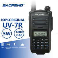 Baofeng UV 7R Walkie Talkie Dual Band UHF VHF Portable Two Way Radio Police Equipment HF Ham Transciver Radio Amador Talki Walki